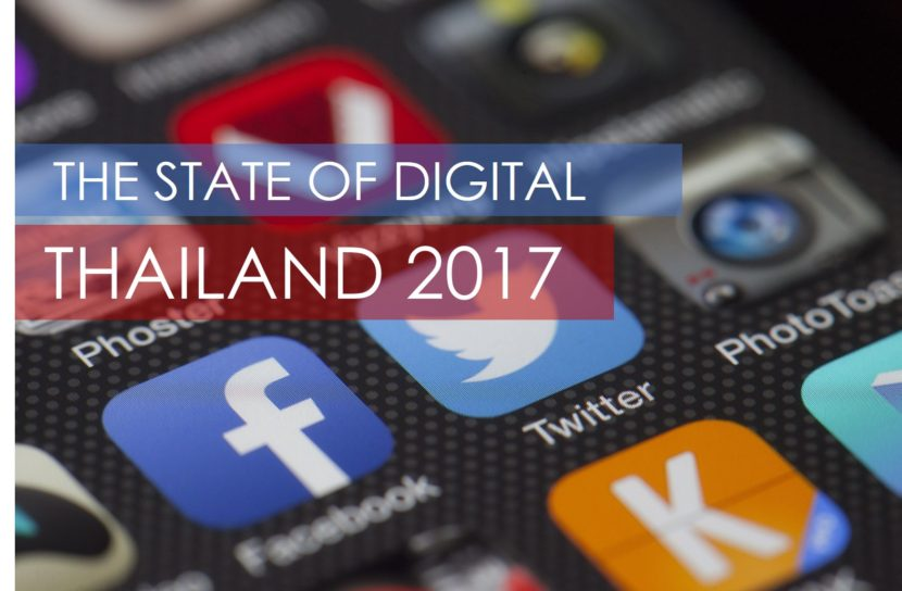 State of digital marketing thailand 2017