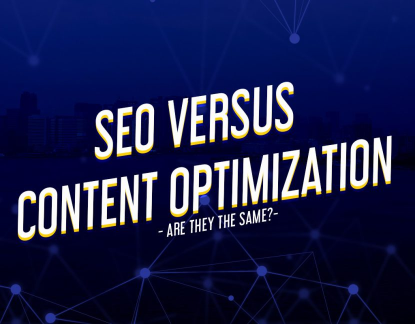 Seo VS Content Optimization