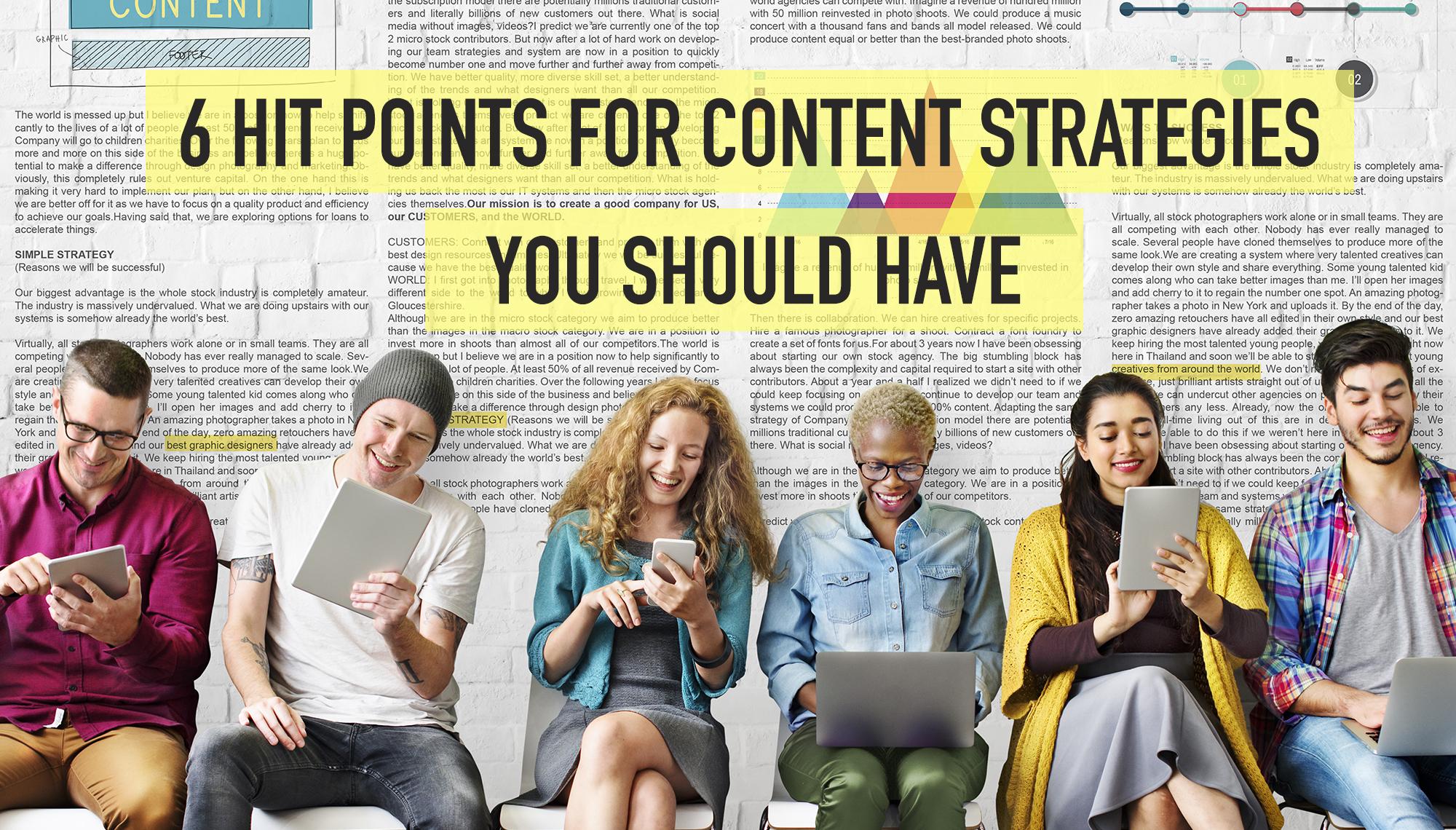 6 Hit points for content strategies