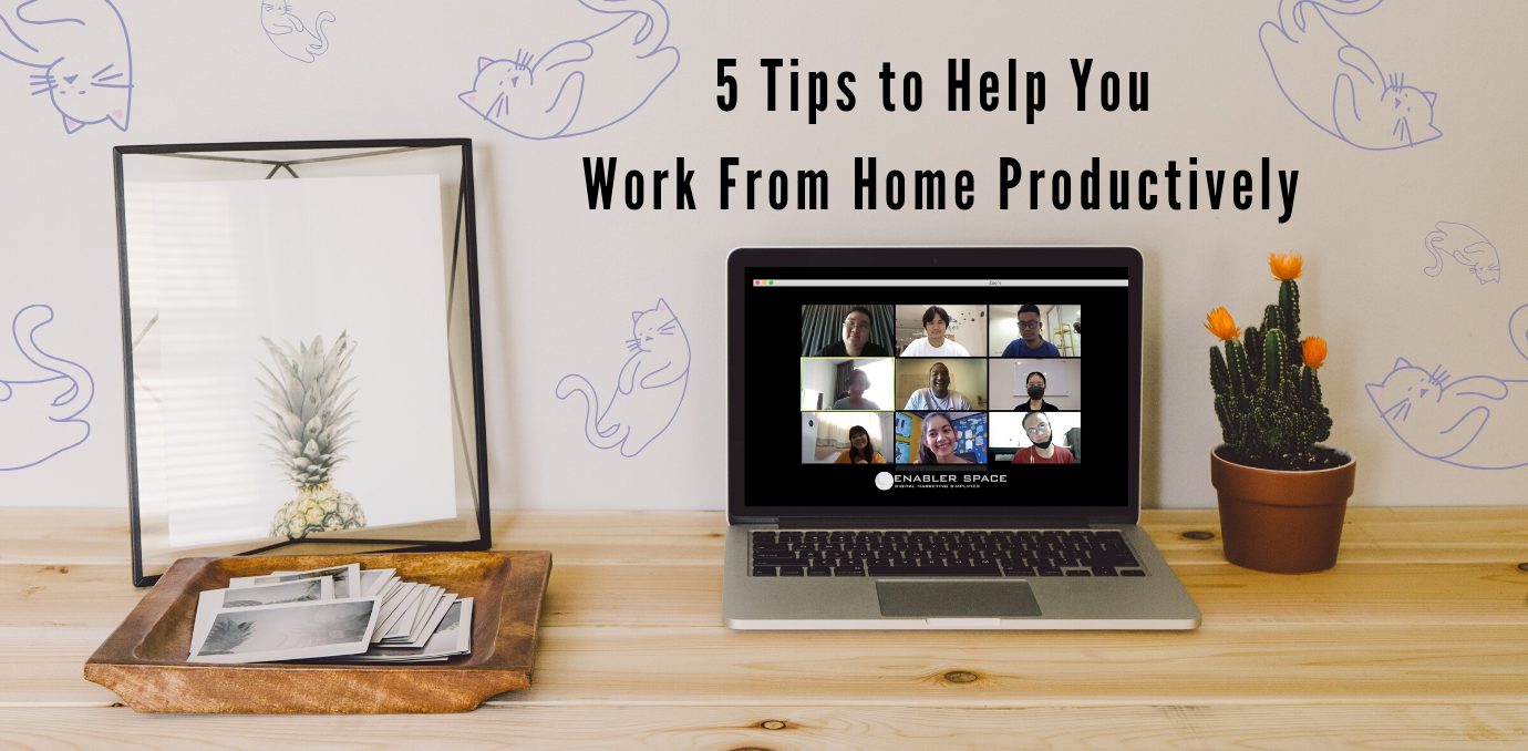 5 tips to help you work from home productively