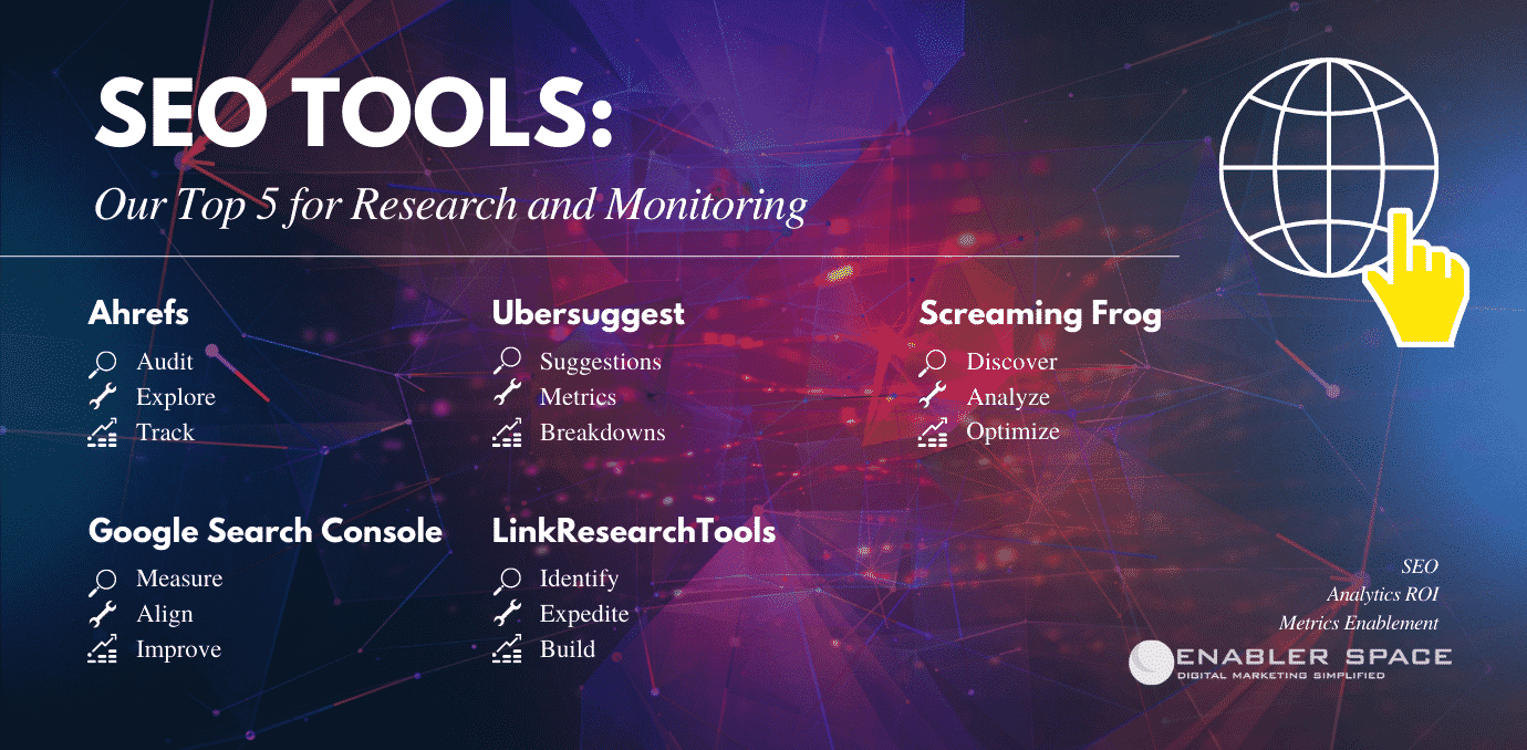 SEO Tools: Our Top 5 for Research and Monitoring