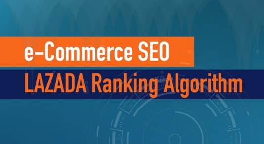 LAZADA ranking algorithm - eCommerce SEO